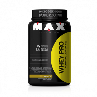 WHEY PRO MAX TITANIUM 1kg